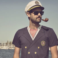 The captain of liveaboard
